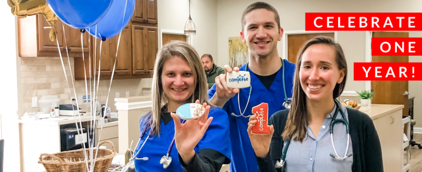 Complete Health Partners Celebrate One Year in Business