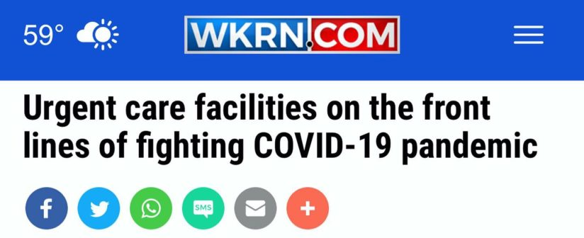 WKRN Visits Complete Health Partners to Discuss COVID-19 Preparations
