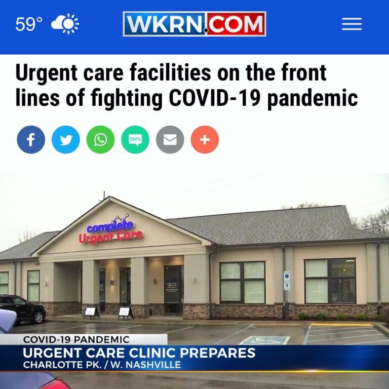COVID-19 Nashville Urgent Care