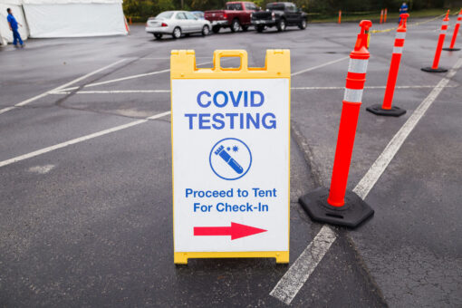 Curbside COVID testing Nashville